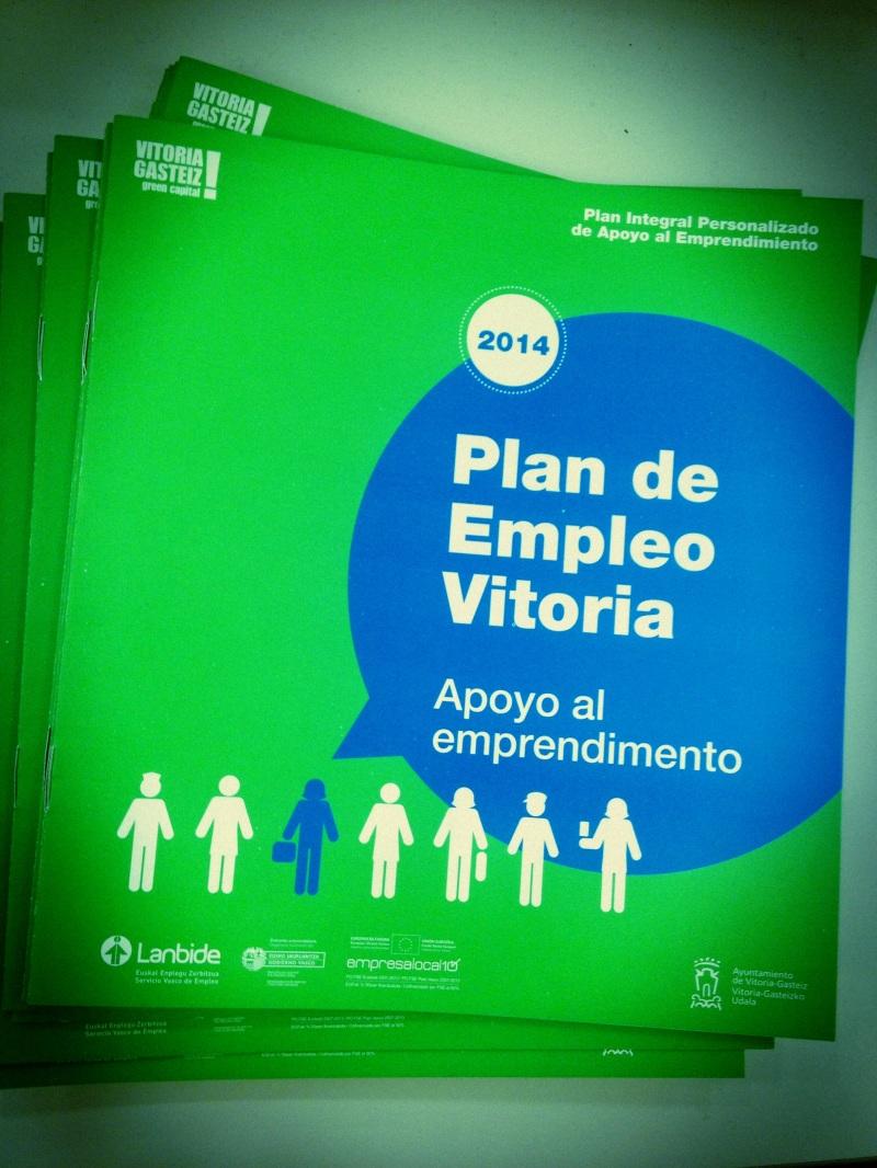 Plan Integral Personalizado de Apoyo al Emprendimiento 2014Vitoria-Gasteiz